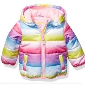 Carter's Toddler Fleece Lined Puffer Jacket Coat